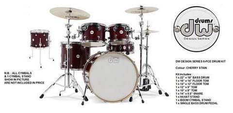 DW Design 2215CS Drum Kit & Access