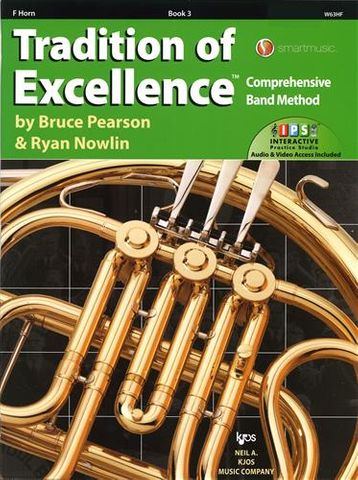 FRENCH HORN 3 Tradition of Excellence