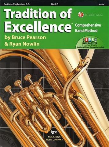 Baritone & Euphonium BC 3 Trad of Excell