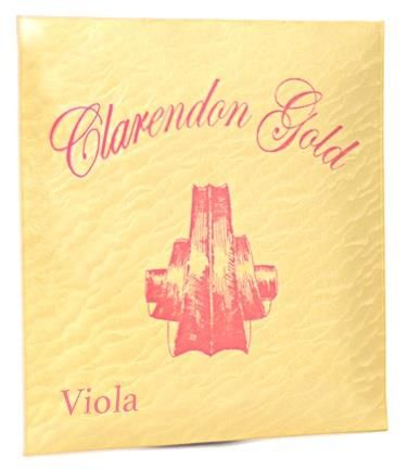 14in Viola G String Clarendon Gold