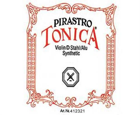 Pirastro Tonica D Violin String Syn/Al