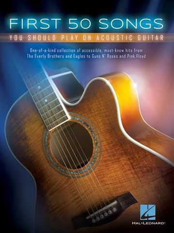 First 50 Songs Acoustic Guitar
