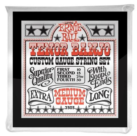 Ernie Ball Medium Tenor Banjo String