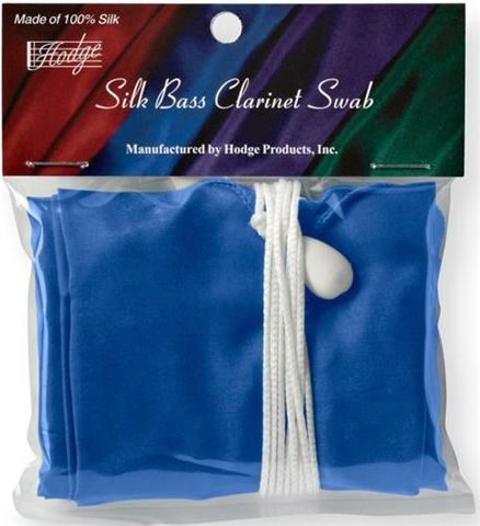 Hodge Bass Clarinet Silk Swab