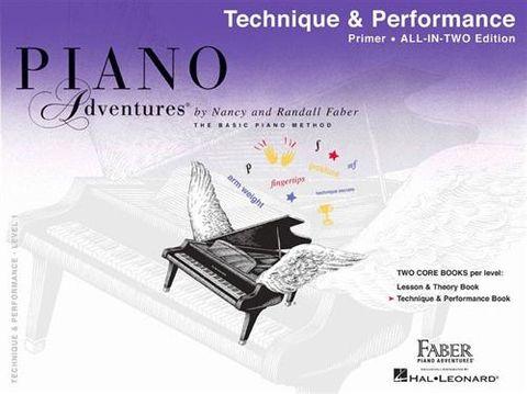 Piano Adv All in Two Primer Technique