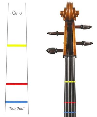 First Fret 1/2 CELLO