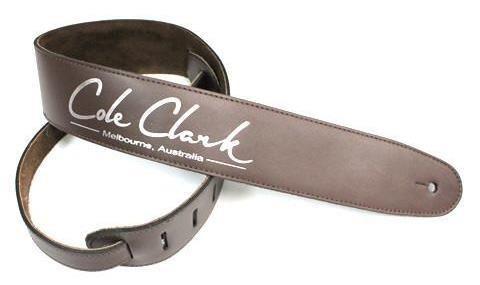 Cole Clark BROWN Leather Saddle Guit Str