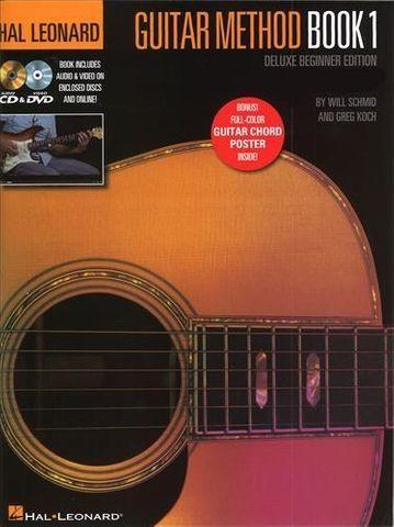 HL Guitar Method Bk 1 Dlx Beginner Ed