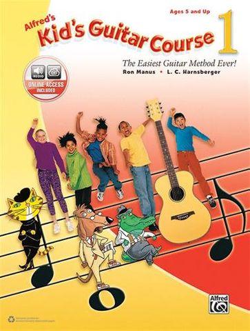 Alfreds 1 Kids Guitar Course
