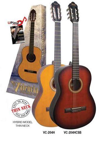 Valencia 204H Hybrid Classic Guitar