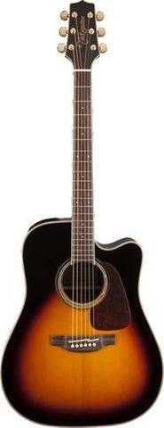 Takamine D71CEBSB Brown Ac/El Guitar