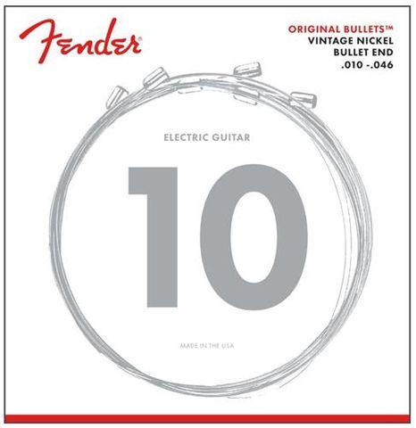 Fender 10-46 Bullet Pure Nkl End
