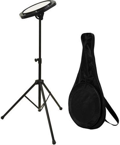 OnStage/Drumfire Practice Pad w Std&Bag