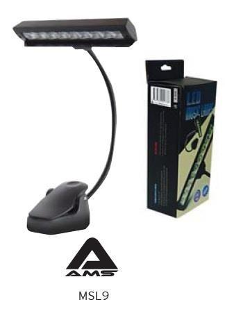 MSL9 Bright Music Stand LIght 9 LED