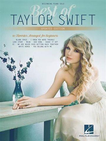 Best of Taylor Swift Begin Piano Solo