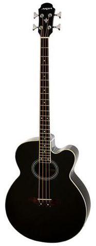 Aria REB30M BLACK Acoustic Bass Gtr wBag