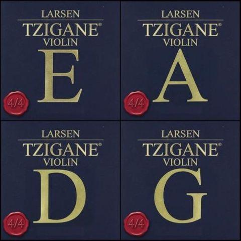 Larsen 4/4 MED Tzigane Violin String Set