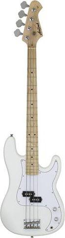 Aria White Maple P Bass Guitar