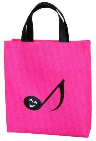 Pink with Quaver Music Bag