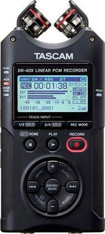 Tascam DR40X Ch Linear PCM Recorder