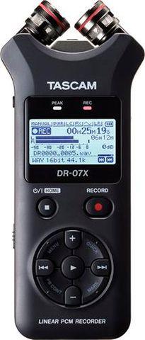Tascam DR07X Ch Linear PCM Recorder