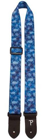 Perris 1.5in Blue Turtles Ukulele Strap