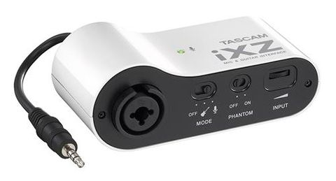 Tascam Mic and Guitar Interface for iPad