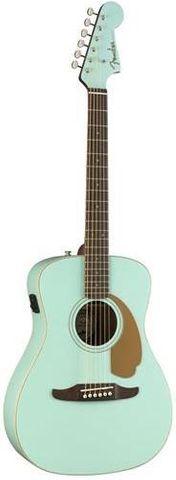 Fender Aqua Malibu Player Acoustic Guit