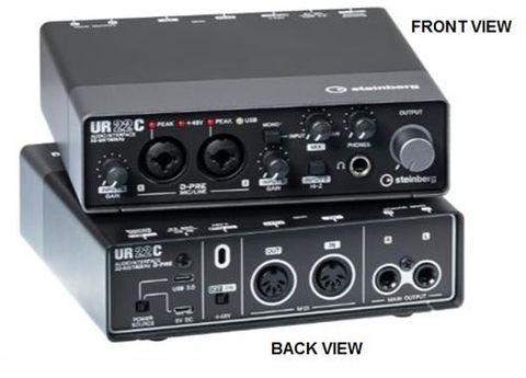 Steinberg UR22CR USB C Audio Interface