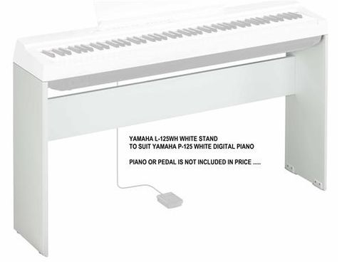 Yamaha L125WH Stand for WHITE P125WH