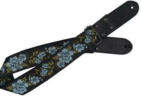 DSL Flower Blue Vintage Pattern Strap