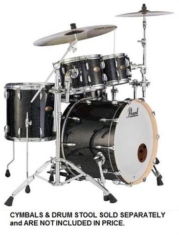 Pearl Session Studio Blk Halo Drum Kit