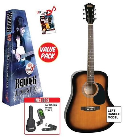 Redding RED50 LH Acoustic Guitar Pack TS