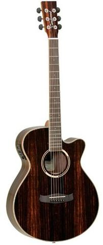 Tanglewood Discovery Exotic Black Ac/El