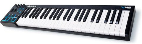 Alesis V49 USB Keyboard w Pad Controller