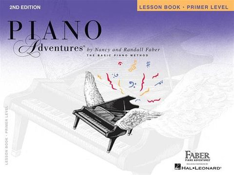 Piano Adventures Lesson Primer 2nd Ed