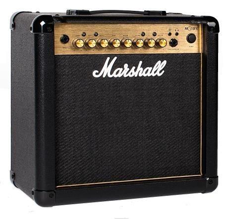Marshall MG15GFX 15w Gold Combo w FX