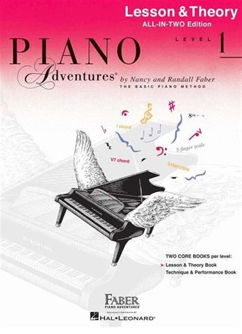 Piano Adv All In Two 1 Lesson Theory