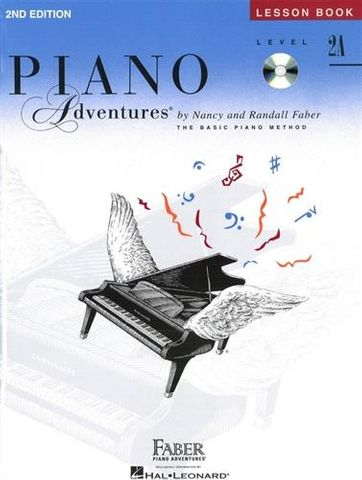 Piano Adv All in Two 2A Lesson Th Bk CD