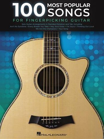 100 Most Popular Songs for Fingerpicking