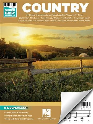 Country Super Easy Songbook
