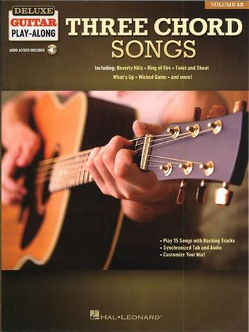 Three Chord Songs Dlxe Guitar Playalong