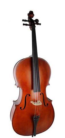 E Keller 3/4 Cello Outfit with Bag