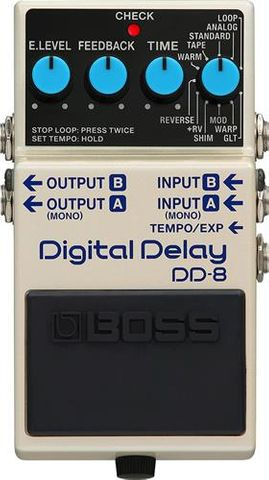 Boss Digital Delay Pedal DD8