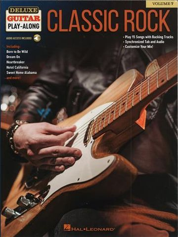 Classic Rock Deluxe Guitar Playalong V7