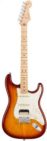 Fender AM Pro Strat HSS SHAW MM SSB Guit