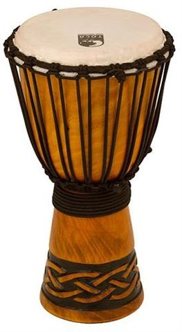 Toca 8in Celtic Knot WD Djembe