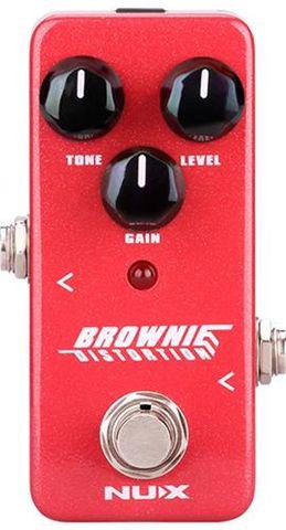 Nux Brownie Mini Distortion Pedal