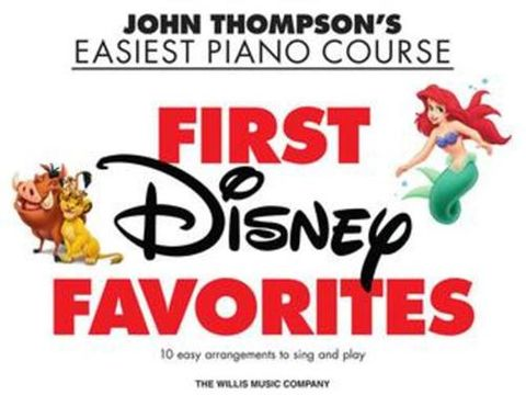 Easiest Piano Course First Disney Favs