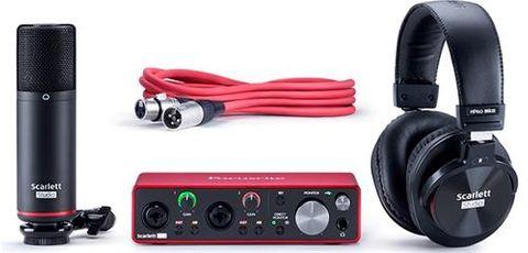 Scarlett 2I2StudioGen3 Audio Interface